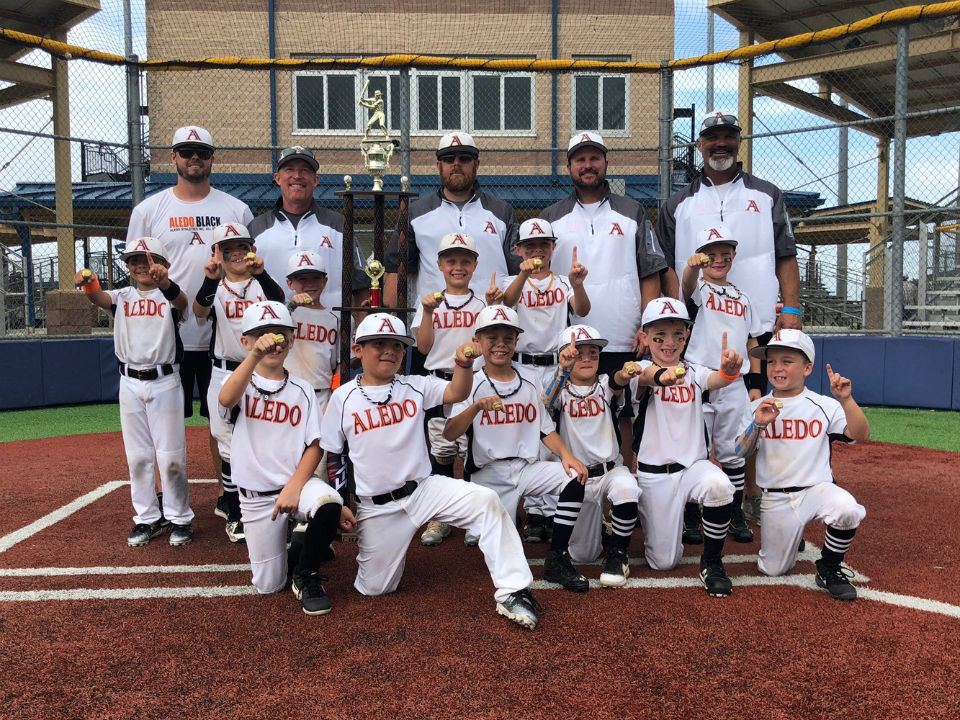 Aledo 7U Black - Boys Coach Pitch All-Stars