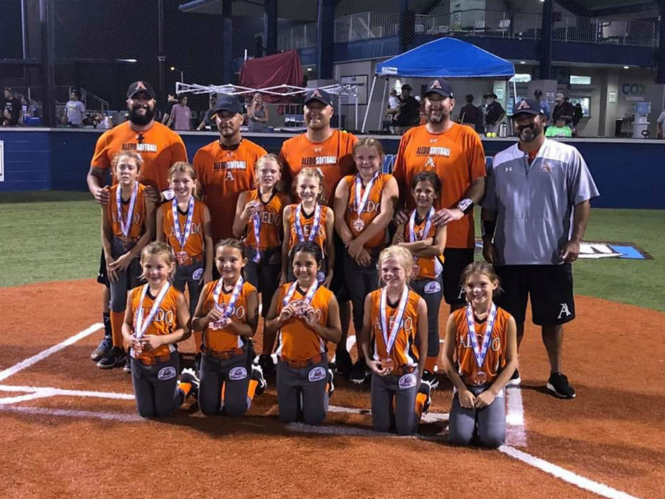 Aledo 8U - Girls Coach Pitch All-Stars