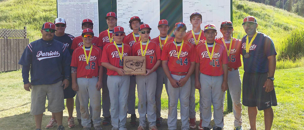 TC PATRIOTS Honor take 4th place in Steamboat World Series