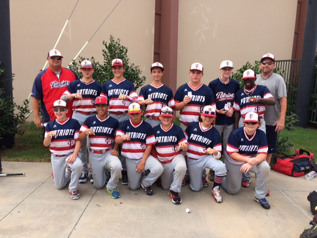TC PATRIOTS win Back to School Tournament at BLD