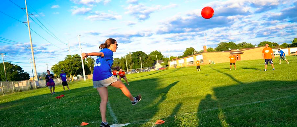 Join Our Coed Kickball & Free Beer League