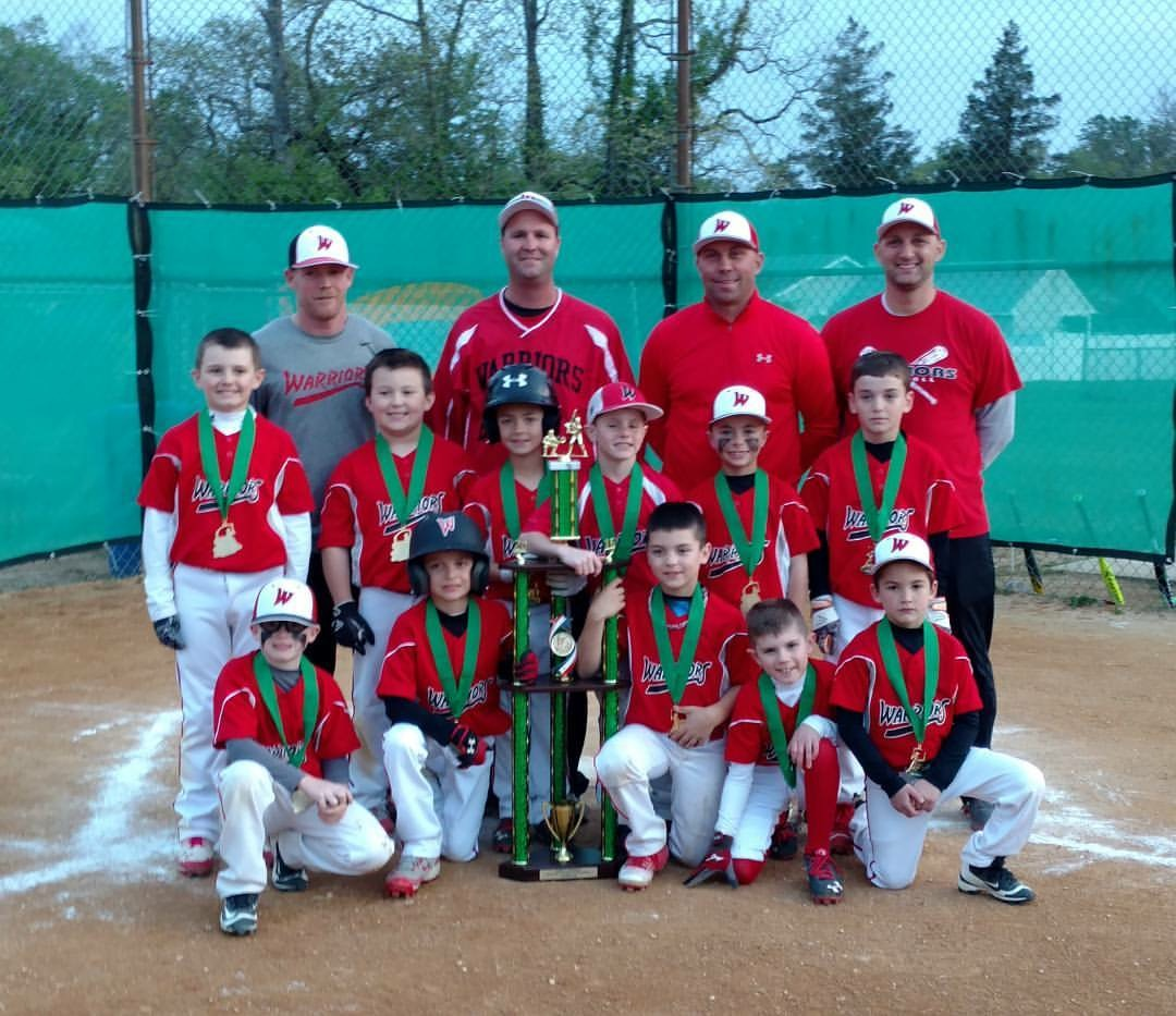 8U SOUTH JERSEY WARRIORS