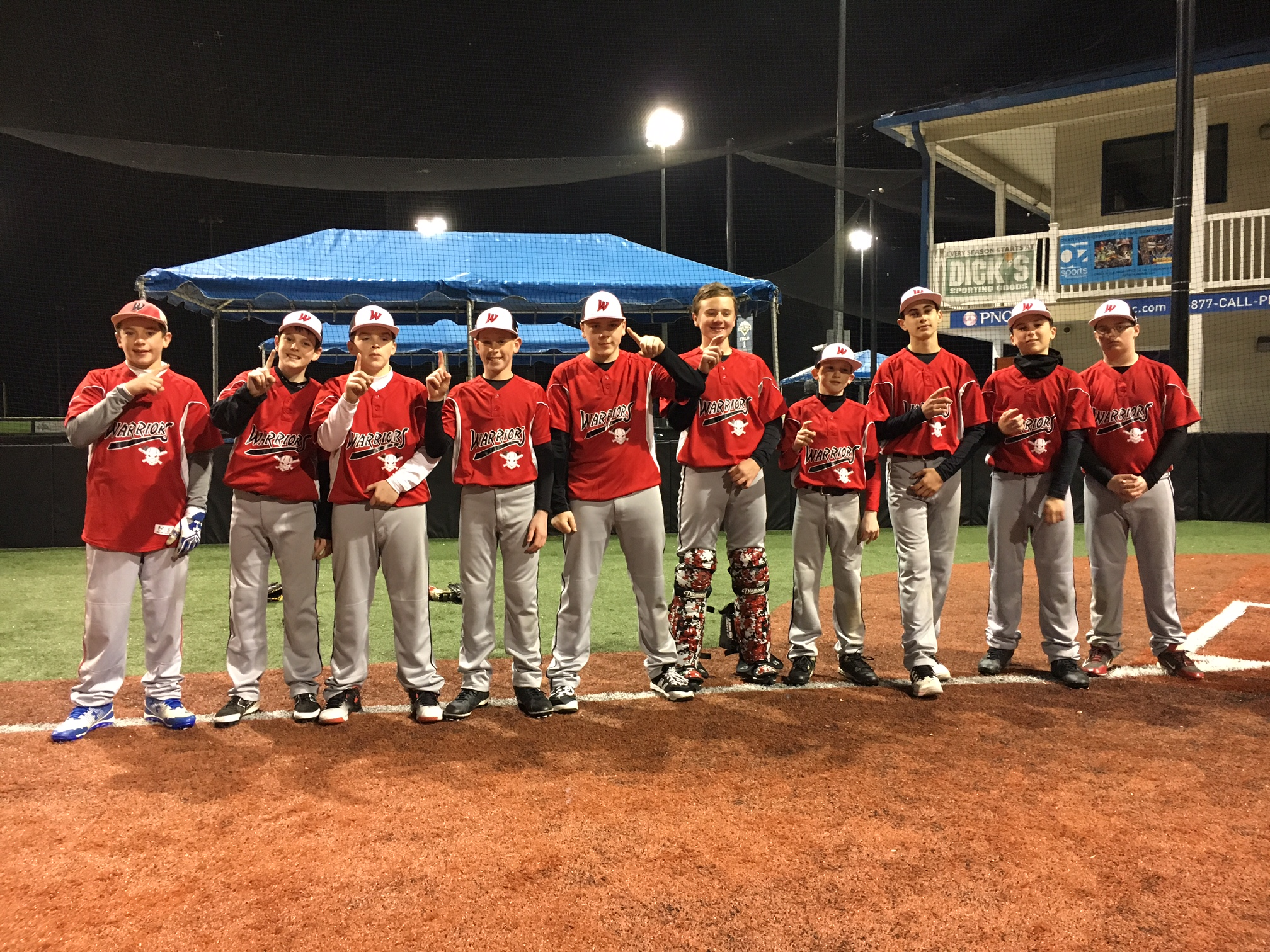12U SOUTH JERSEY WARRIORS