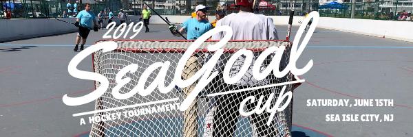 2019 Summer Seagoal Cup 6v6 Coed Outdoor Hockey Tourney Sea Isle
